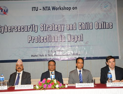 ITU –NTA Workshop on  Cybersecurity Strategy and Child Online Protection in Nepal